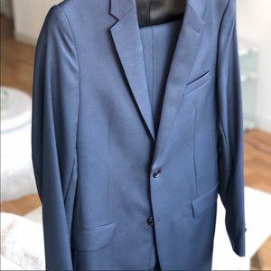 CHRISTIAN DIOR Navy Blue Suit